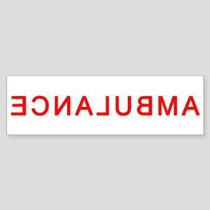 EMS Rights Ambulance Back Bumper Sticker