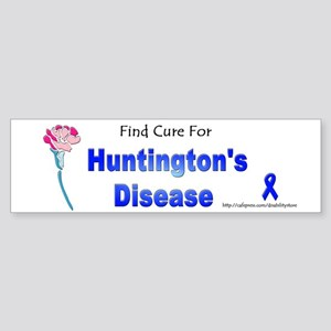 Huntington Find Cure Bumper Sticker