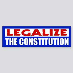 Legalize The Constitution