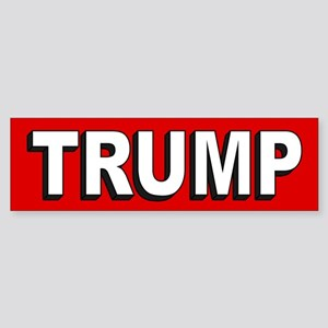 Donald Trump 2020 Sticker (Bumper)