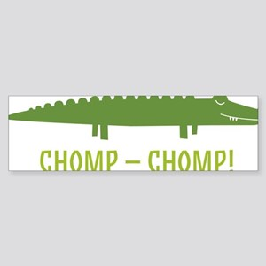 Chomp Alligator Sticker (Bumper)