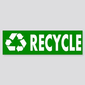 """Recycle"" Bumper Sticker"