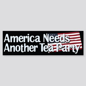 America Needs Another Tea Party Bumper Sticker