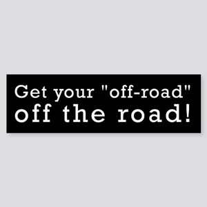 Off Road Bumper Sticker