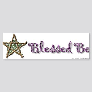 Blessed Be II Sticker (Bumper)