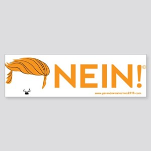 NEIN! Trump Bumper Sticker
