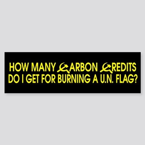 How many carbon credits do I Bumper Sticker