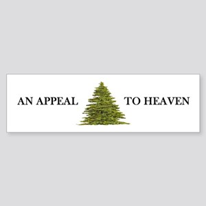 An Appeal To Heaven Flag Bumper Sticker