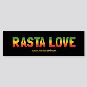 One Love Rasta Sticker (Bumper)