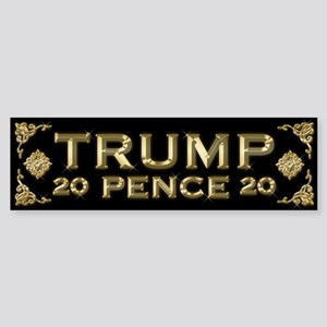 Trump / Pence 2020 Sticker (Bumper)