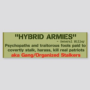 HYBRID ARMIES Sticker (Bumper)