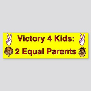 Victory 4 Kids Bumper Sticker