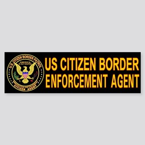 Citizen Border Patrol - Bumper Sticker