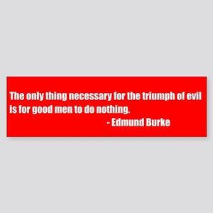 Triumph of Evil Bumpersticker
