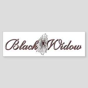 Black Widow Bumper Stickers Cafepress