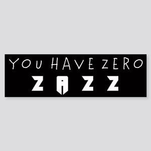 ZAZZ 1.0 Bumper Sticker