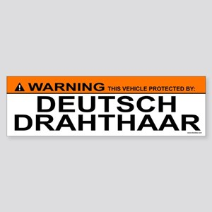 DEUTSCH DRAHTHAAR Bumper Sticker
