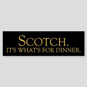Scotch Bumper Sticker