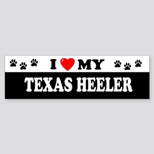 TEXAS HEELER Bumper Sticker