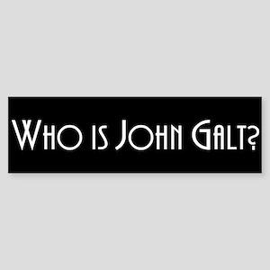 John Galt Bumper Stickers Cafepress