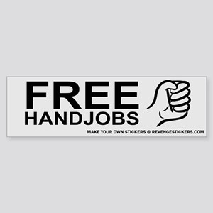 Free Hand Jobs - Revenge Sticker