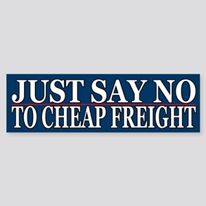 Just Say No To Cheap Freight