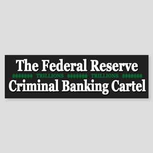 Federal Reserve Banksters - Sticker