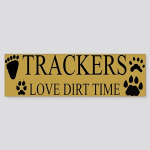 Dirt Time Bumper Sticker