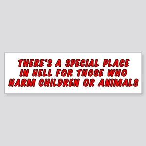 There's a special place Sticker (Bumper)