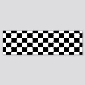 Checkered Flag Sticker (Bumper)