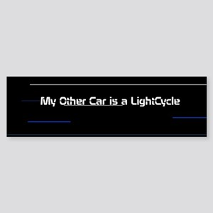 Tron Legacy Bumper Sticker - Lightcycle