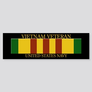 US Navy Vietnam BS Bumper Sticker