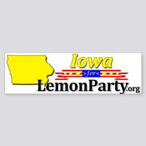 Iowa Sticker (Bumper)