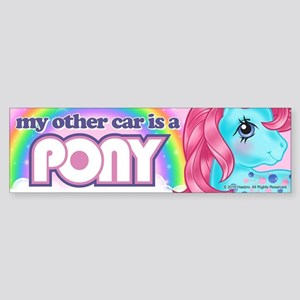 MLP Retro Other Car Sticker (Bumper)