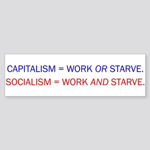 capitalvs Bumper Sticker