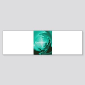 Electric Cross Bumper Sticker