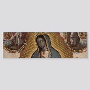 Virgin of Guadalupe. Bumper Sticker