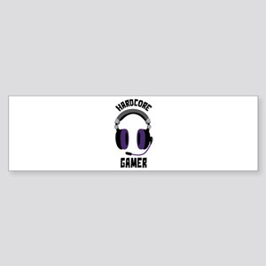 Hardcore Gamer Bumper Sticker