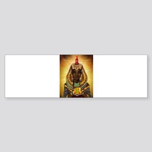 Egyptian Goddess Isis Bumper Sticker