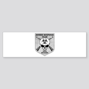 Zombie Response Team: Iowa Division Sticker (Bumpe