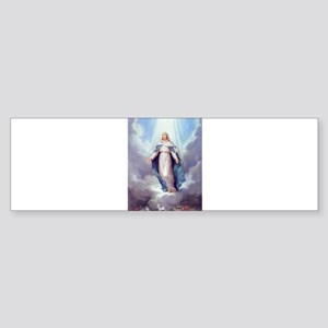 Blessed Virgin Mary Bumper Sticker