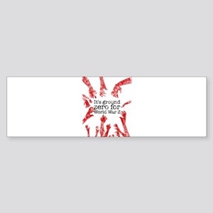 World War Z Sticker (Bumper)