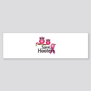 Save the hooters Sticker (Bumper)