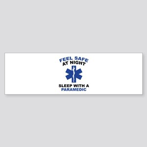 Feel Safe At Night Sticker (Bumper)