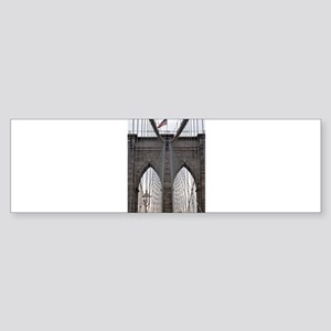 Brooklyn Bridge: No.6 Sticker (Bumper)