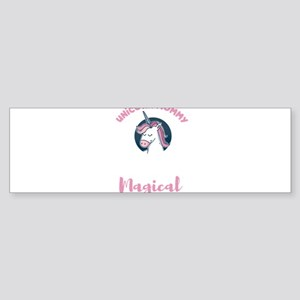 Unicorn Mommy Magical Mom Mother&#3 Bumper Sticker