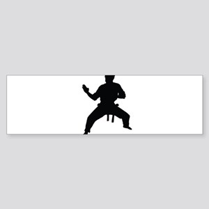 Karate Bumper Sticker