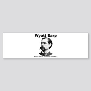 Earp: Accuracy Sticker (Bumper)