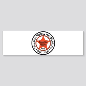 Tombstone Marshal Bumper Sticker