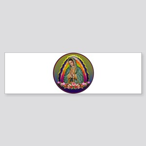 Guadalupe Circle - 1 Sticker (Bumper)